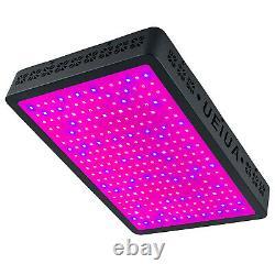 8000W LED Grow Light Lamp Full Spectrum for Indoor Plants Veg Flower Chain US