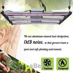 8000W LED Grow Light Strip Bar 3500K Full Spectrums for VEG & Flower Dual Switch