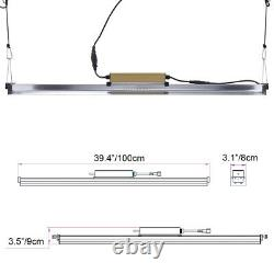 9000W Full Spectrum LED Grow Light Bar Bloom Lamp for Plants & Veg Flower Indoor