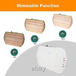 AGLEX 2000W LED Grow Light Dimmable Full Spectrum Hydroponics Indoor Veg