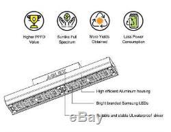 AGLEX G110W LED Grow Light Bulb Sunlike Full Spectrum Indoor Veg Plant Lamp
