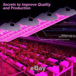 AntLux 4FT LED Grow Light Greenhouse Full Spectrum Integrated Growing Veg Lamp