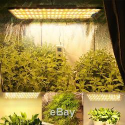 BESTVA 1000W LED Grow Light Panel Lamp Veg and Flower Greenhouse Full Spectrum