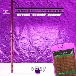 BESTVA 2000W Full Spectrum Hydro LED Grow Light with VEG Bloom Switch US stock