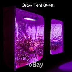 BESTVA 2000W LED Grow Light Full Spectrum Panel Lamp Indoor Flower Veg Plant