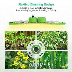 BESTVA 4000W LED Grow Light Full Spectrum Samsung Meanwell Indoor Veg Bloom