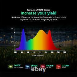 BESTVA PRO 2000W LED Grow Light Full Spectrum for Indoor Plant Veg Flower