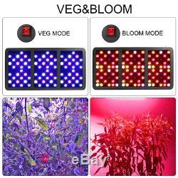 BESTVA Reflector 2000W Full Spectrum Hydro LED Grow Light VEG Bloom Switch