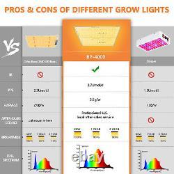 Bloom Plus 4000W LED Grow Light Sunlike Full Spectrum Indoor Plants Veg Bloom