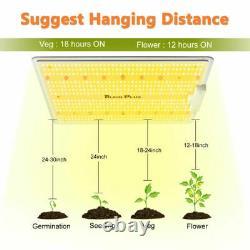 Bloom Plus1500W LED Grow Light Sunlike Full Specturm Indoor Plants Veg Flower