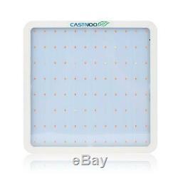 CASTNOO 1000W LED Grow Light Panel Lamp Full Spectrum Hydroponic Veg Growing FZ
