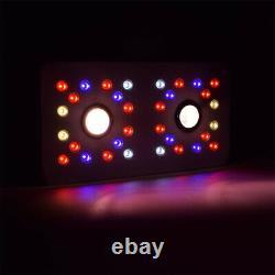COB 1000W Plant Grow Light Full Spectrum Reflector Series UV IR Veg & Bloom Lamp