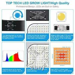 Dimmable LED Plant Grow Light Full Spectrum for Indoor Plants Seedling Veg
