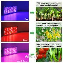 FAMURS 2000W LED Grow Light Full Spectrum Triple Chips Veg and Bloom Switches
