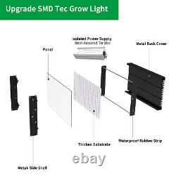 Full Spectrum LED Grow Light 4000W 3000W 2000W 1000W + Grow Tent Kit Indoor Veg