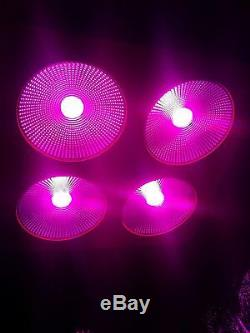 Full Spectrum Reflector 800w COB LED Grow Light Lamp Hydro Plants Veg Flower