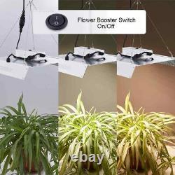 Fully Dimmable 2000W LED Grow Light Full Spectrum Seeding Veg Bloom Dual Switch