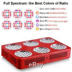 GoldenRing S6 1260W Full Spectrum LED Grow Light Lamp Indoor Plant Veg Bloom
