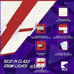 HLG 600 Rspec Horticulture Lighting Group LED Grow Light BLOOM/VEG 120Volt