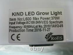 KIND LED L600-VEG Grow Light 6 month limited warranty Free Shipping