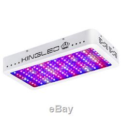 KING 1200W LED Grow Light Full Spectrum Hydroponic Veg Flower Plant Indoor Lamp