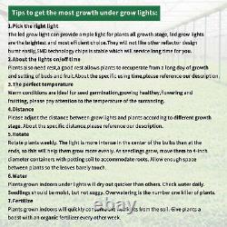 LED Grow Light Full Spectrum Hydroponic Indoor Plants Veg Flower Growing 5000W