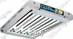Lightwave T5 Flourescent 4-Tube (2ft) 96W Propagation & Veg Grow Light