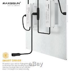 MAXSISUN Newest PB 4000 Full Spectrum LED Grow Light for Indoor Plants Veg Bloom