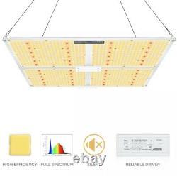 MAXSISUN PB 4000 Full Spectrum LED Grow Light for Indoor Plants Veg Bloom