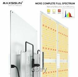 MAXSISUN PB4000 Full Spectrum LED Grow Light for Indoor Plants Veg & Bloom