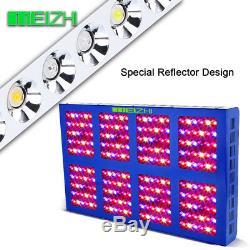 MEIZHI 1200W LED Grow Light Full Spectrum Indoor Plant VEG Bloom Hydroponic Lamp