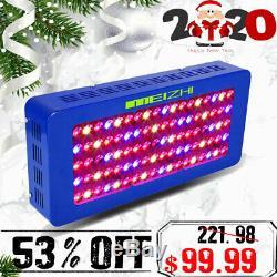 MEIZHI 450W LED Grow Light Full Spectrum Hydroponic VEG Bloom Indoor Plant Panel