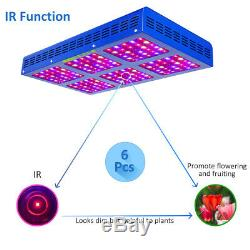 MEIZHI 900W LED Grow Light Full Spectrum Hydroponics Indoor Plants IR VEG Bloom
