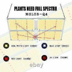 Mahler Gates 2PCSX4000W LED Grow Light Indoor All Stage Veg Flower brand Driver