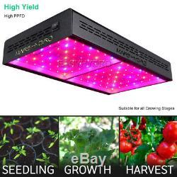 Mars Hydro ECO 600W Full Spectrum LED Grow Lights for Indoors Plant Veg Flower