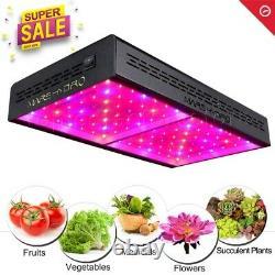 Mars Hydro ECO 600W LED Grow Light Full Spectrum for Indoor Veg Flower Plants
