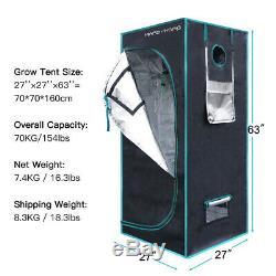 Mars Hydro Eco 600W LED Grow Light+2' x 2' x 5'Grow Tent Kit SMD Chip Veg Bloom