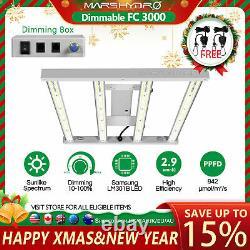 Mars Hydro FC 3000 LED Grow Light Samsung LM301B For All Indoor Plant Veg Flower