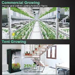 Mars Hydro FC-E3000 LED Grow Light Bars for Indoor Plants Veg Flowers Movable UV