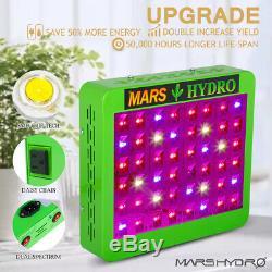 Mars Hydro LED Grow Light Full Spectrum Reflector 300W 600W 800W 1000W Veg Bloom