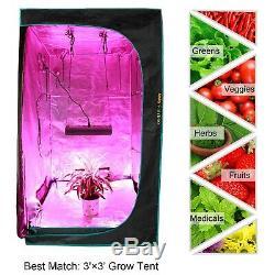 Mars Hydro Pro II 800W LED Grow Light Full Spectrum for Indoor Veg Bloom Plants