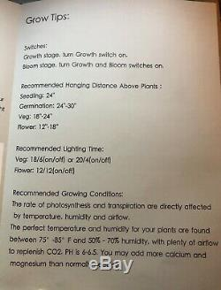 Mars Hydro Pro II Cree 128 600W LED Grow Light Full Spectrum Veg Flower Plant