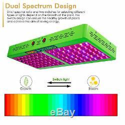 Mars Hydro Reflector 600W Led Grow Light Full Spectrum Indoor Plants Veg&Bloom