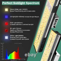 Mars Hydro SP 150 3000 6500 LED Grow Light Full Spectrum Strip Veg Bloom Indoor