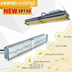 Mars Hydro SP 150 LED Grow Light Strip Full Spectrum Veg for Indoor Plants Bar