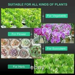Mars Hydro SP150 LED Grow Light Full Spectrum Hydroponic Indoor Plant Veg Flower