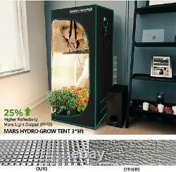 Mars Hydro TS 1000W LED Grow Light Full Spectrum Veg Flower Indoor Cover 3x3ft