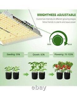 Mars Hydro TS 1000W Led Grow Light Lamp Dimmable Full Spectrum Veg Flower Plants