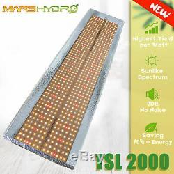 Mars Hydro TS 2000W LED Grow Light Sunlike Full Spectrum for Indoor Veg Flower