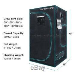 Mars Hydro TS 2000W LED Grow Light Veg Flower+3'x3'x6' Indoor Tent Kits Home Box